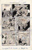 BAKER, MATT / JACK KAMEN - Jungle Comics #156 pg 4, Tiger Girl caught, Fight Comics 1947, Devil-dam Comic Art