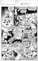 BAKER, MATT / JACK KAMEN - Fight Comics #54 large Good Girl last pg, Tiger Girl stops hunters, frees animals Comic Art