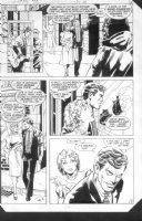 JURGENS, DAN - Detective Comics #525 pg 5. Bruce/Batman & Vicki Vale  Comic Art