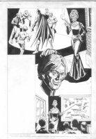 ANDRU, ROSS - Batman Who's Who - Batman & granny crime lord  Comic Art