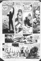 HOBERG, RICK / ALCALA - Batman #380 pg 21 Batman, Nocturna & Night Slayer Comic Art