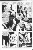 ANDRU, ROSS - Batman Annual #12 pg 20 Batman, high society Comic Art