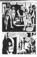 ANDRU, ROSS - Batman Annual #12 semi-splash 18 Batman, society Comic Art