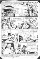 HOBERG, RICK / ALCALA - Batman #385 pg 1  Batman Comic Art