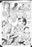 HOBERG, RICK / ALCALA - Batman #385 pg 9, Batman Batcave, Robin  Comic Art