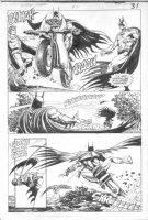 HOBERG, RICK / ALCALA - Batman Annual #10 pg 27, 2 Batmans Comic Art