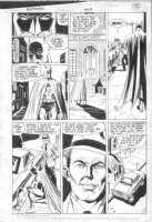 ANDRU, ROSS - Batman #409 pg 14 Batman in the  street Comic Art