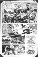 HOBERG, RICK / ALCALA - Batman #380 pg 22 Batman, Nocturna & Night Slayer Comic Art