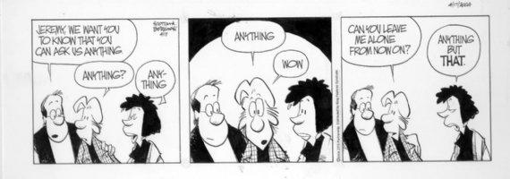BORGMAN, JIM - Zits daily 4-17-04 Comic Art