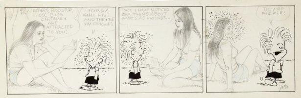 DRAKE, STAN & BILL YATES - Annie's Li'l Orphans daily, Knats Comic Art