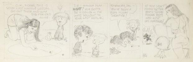 DRAKE, STAN & BILL YATES - Annie's Li'l Orphans daily, Marbles Comic Art