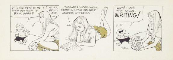DRAKE, STAN & BILL YATES - Annie's Li'l Orphans daily, Cookbook  Comic Art