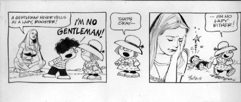 DRAKE, STAN & BILL YATES - Annie's Li'l Orphans daily- no lady Comic Art