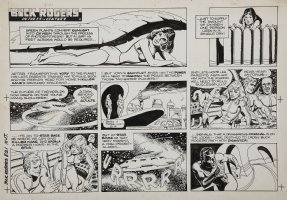 SPARLING, JACK - Buck Rogers Sunday 8/21 1983 Comic Art