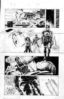 WEEKS, LEE / RICK HOBERG - Winter Soldier #1 pg, New Captain America & New Avengers Comic Art