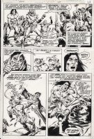 COLON, ERNIE - Arak Son of Thunder #1 page 18 Comic Art