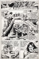 COLON, ERNIE - Warlord #48 pg8, first appearance of Arak Son of Thunder Comic Art