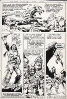 COLON, ERNIE - Warlord #48 pg 10, first appearance of Arak Son of Thunder Comic Art