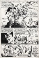 COLON, ERNIE - Warlord #48 pg 14, first appearance of Arak Son of Thunder Comic Art