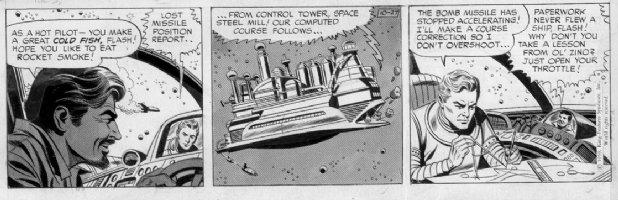 BARRY, DAN - Flash Gordon Daily, 10/27 1959 Comic Art