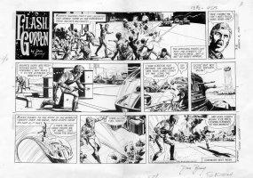 BARRY, DAN - Flash Gordon Sunday, 3/8 1970 Comic Art