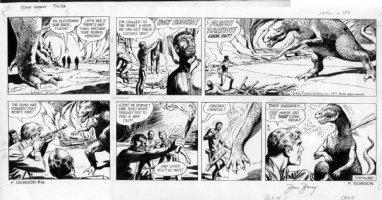 BARRY, DAN - Flash Gordon Sunday, 9/16 1973 Comic Art