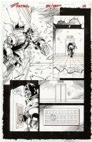 CASE, RICHARD & GRANT MORRISON - Doom Patrol #59 pg 14, Robot Man in action Comic Art