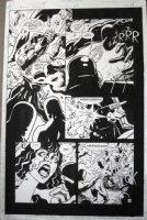 CASE, RICHARD & GRANT MORRISON - Doom Patrol #63 pg 18, Robot Man, Crazy Jane Comic Art