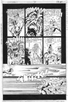 CASE, RICHARD & GRANT MORRISON - Doom Patrol #38 pg 18 Comic Art