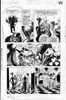 CASE, RICHARD & GRANT MORRISON - Doom Patrol #49 pg 20/23 Comic Art