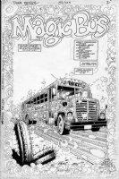 CASE, RICHARD & GRANT MORRISON - Doom Patrol #51 pg, splash Comic Art