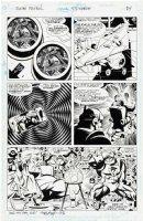 Ken Steacy Doom Patrol #53 pg 11, 1992, team & Celestius story Comic Art