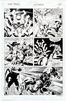 STEACY, KEN - Morrison's Doom Patrol v2 #53 pg 18, Robot Man 1992 Comic Art