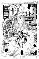 CASE, RICHARD & GRANT MORRISON - Doom Patrol #21 cover, New Origin part 3 Comic Art