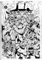 PORTER, HOWARD - Morrison's JLA series book- JusticeForAll #1 Key DC heroes Comic Art