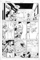 CASE, RICHARD & GRANT MORRISON - Doom Patrol #21 pg 22,  Robot-Man Crazy-Jane Rebus Chief - New Origin part 3 Comic Art