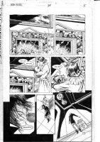 CASE, RICHARD & GRANT MORRISON - Doom Patrol #24 pg 5,  Crazy-Jane, Weird room & baby Comic Art