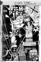 CASE, RICHARD - Doom Patrol #66 cover, Robotman - new origin  Sliding in the Wreckage part 3  1993 Comic Art