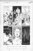 CASE, RICHARD & GRANT MORRISON - Doom Patrol #33 pg 28 Comic Art