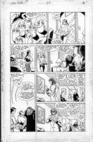 CASE, RICHARD & GRANT MORRISON - Doom Patrol #37 pg 7 Comic Art
