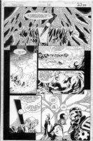 CASE, RICHARD & GRANT MORRISON - Doom Patrol #38 pg 23 Comic Art