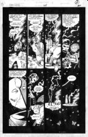 CASE, RICHARD & GRANT MORRISON - Doom Patrol #24 pg 21, Robotman and Rebis just barely defeat Red Jack! Comic Art
