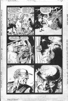 CASE, RICHARD & GRANT MORRISON - Doom Patrol #41 pg 3, Fallen Angel Comic Art