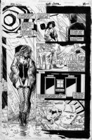 CASE, RICHARD & GRANT MORRISON - Doom Patrol #54 splashy pg, Good-girl art, Rebis Origin Comic Art