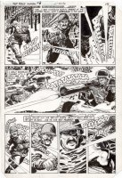 SPIEGLE, DAN - Sgt Rock Annual #3 pg 13, Mickewicz charges Nazi's with grenade Comic Art