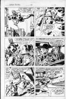 BUSCEMA, JOHN / TOM PALMER - Captain Britain: Marvel UK #30 pg 5 Comic Art
