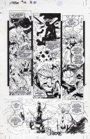 SKROCE, STEVE - Cable  #16 Phalanx Covenant, pg, Jean Grey & Psylocke Comic Art