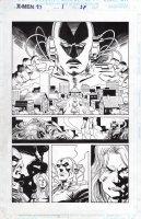 EPTING, STEVE - X-Men Annual 1997 pg, Avengers Comic Art