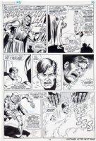 SEVERIN, JOHN / DICK AYERS - Hulk #143 pg 16, Dr Doom defeats Banner, 1971 Comic Art