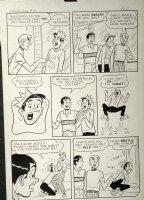 DeCARLO, DAN - Archie's Pal Jughead #19 large pg 2, Arch & Reg - Jug is Food-Addict 1962 Comic Art